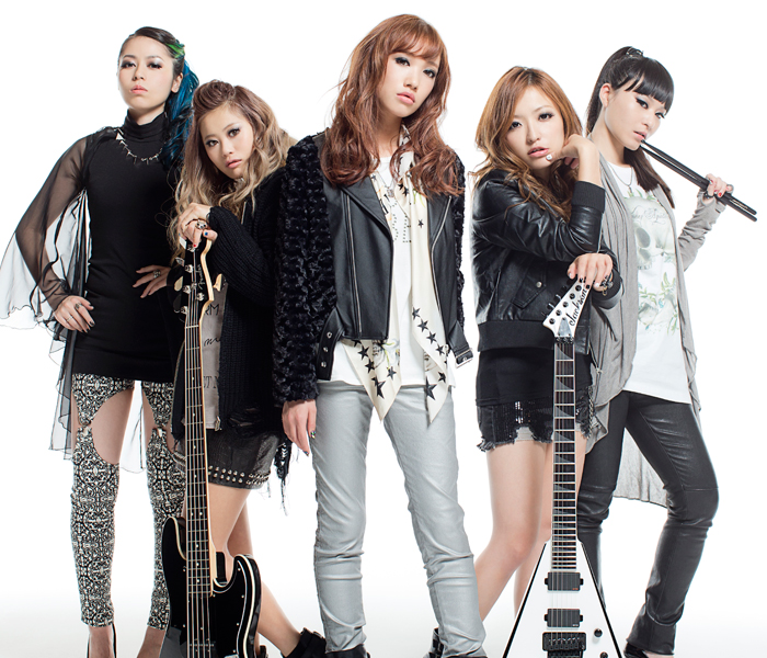 boxx magazine j metal the women ruling the hard rock scene in japan. Black Bedroom Furniture Sets. Home Design Ideas